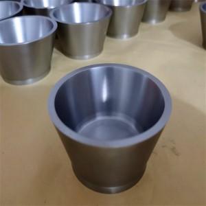OEM ODM Tungsten Metal Alloy Tungsten Crucible 19.3g/Cm3 Density