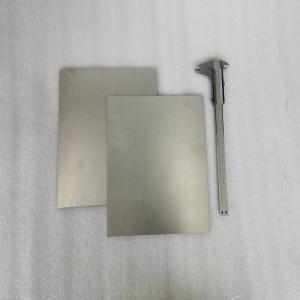 Vacuum Coating Chromium Sheet Bar Rod Customized Size High Hardness