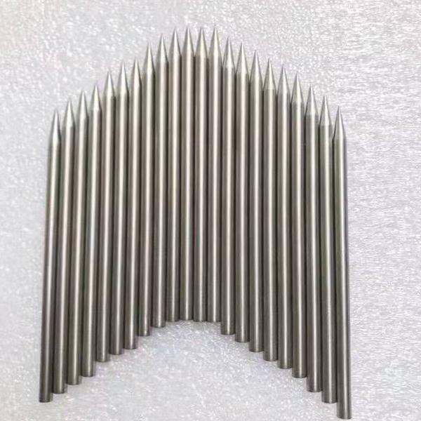 China OEM Tungsten Alloy Foils - Sharpened tungsten needle – Forged Tungsten