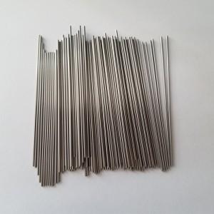 Ultra-thin wall thickness tungsten capillary tube