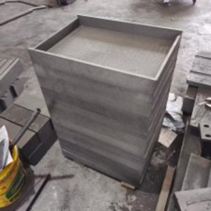 1.85g/Cm3 High Density Carbon Graphite Material Boat Box