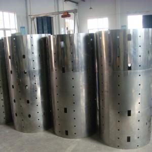 Custom-made molybdenum heat shield