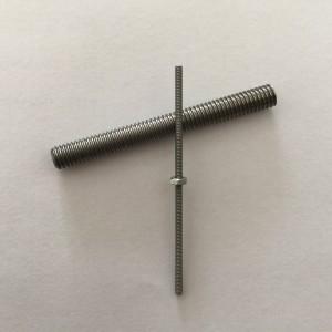 Tungsten threaded rod